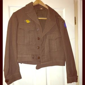 Other - Authentic! WWII Military Jacket!🇺🇸